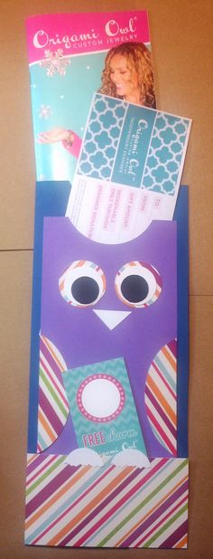 Origami Owl TOM with Gift Certificate Holder by DirectSellersStop, $4.00   Origami Owl