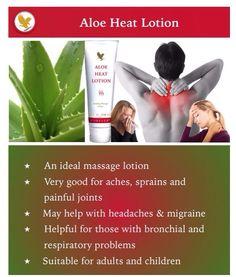 Aloe Heat Lotion. Order online  http://www.normalee.flp.com