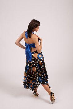 Argentine Tango Dance Skirt  by TheGiftofDance