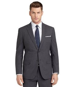 BrooksCool® Regent Fit Shadow and Micro Bead Stripe Suit  					    				  Detailshttp://www.brooksbrothers.com/BrooksCool%C2%AE-Regent-Fit-Shadow-and-Micro-Bead-Stripe-Suit/MK00261_____MDGY_36___SH__,default,pd.html   Item# MK00261   $ 698.00   $ 488.60