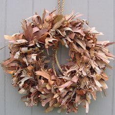 Birch bark and Copper foil.