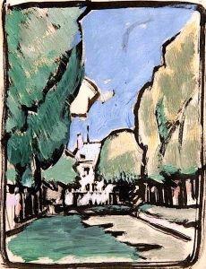 Landscape - Samuel John Peploe - The Athenaeum