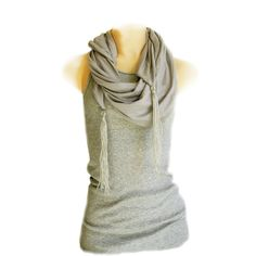 Scarf and Tank Top...wore this today but all purple <3