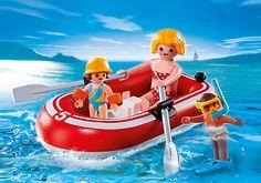 Urlauber mit Schlauchboot Produktnr.: 5439