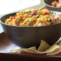 Caviar anyone? Texas Caviar that is - with it's corn, peas, beans and veggies. Great year round!