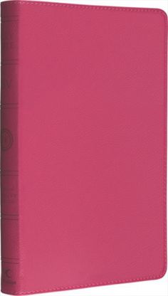 """The best-selling ESV THINLINE BIBLE is ideal for use at home and on-the-go. At less than 1"""" thick and available in a lovely pink binding, it's the most..."""