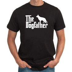Hey, I found this really awesome Etsy listing at https://www.etsy.com/listing/195931514/the-dogfather-german-shepherd-t-shirt
