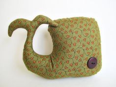 Whale softy - stuffed animal - Olive