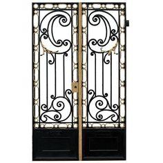 Antique Back Bars, Art Tiles, Antique Doors - Wooden Nickel Antiques, Cincinnati Ohio found on Polyvore