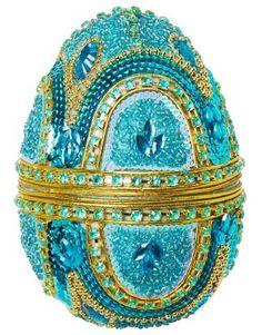 MAHARANI EGG decoration turquoise | Garland/window decor | Garlandwindow decorations | Decoration | Interior | INDISKA Shop Online
