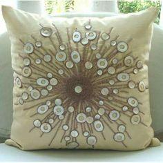 Almofada decoradas com pedras