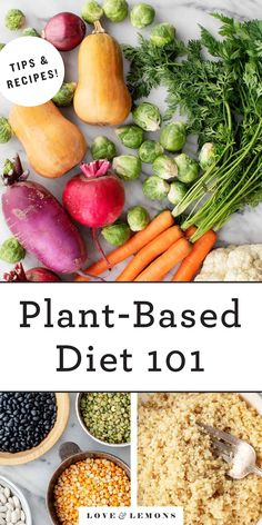 Curious about eating a plant-based diet? This handy guide offers an overview of healthy plant-based diets and includes recipes for cooking plant-based basics like whole grains and legumes! Plant Based Eating, Plant Based Diet, Plant Based Recipes, Healthy Recipes On A Budget, Whole Food Recipes, Dinner Recipes, Best Vegan Cheese, Roasted Sprouts, Cooking Dried Beans
