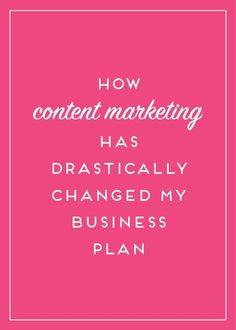 Content marketing wasn't always part of my business plan - but as I added it, things have drastically changed. Click to read more or pin now and save for later!