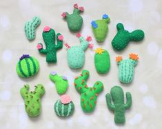 Check out our cactus decorations selection for the very best in unique or custom, handmade pieces from our shops. Hanging Ornaments, Felt Ornaments, Terrarium Cactus, Felt Patterns Free, Cactus Pattern, Creative Kids Rooms, Felt Succulents, Cactus Types, Diy Crib