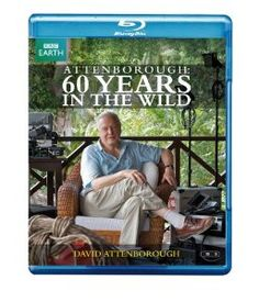 Attenborough: 60 Years in the Wild blu-ray