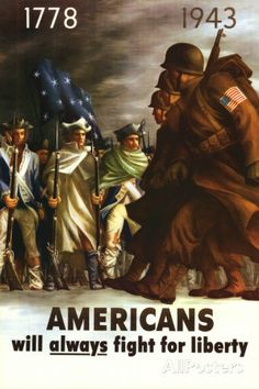 Americans Will Always Fight for Liberty Posters at AllPosters.com