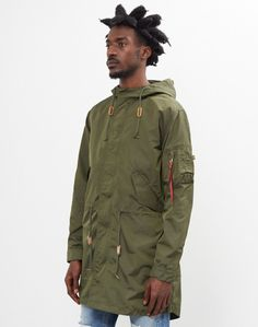 Find the latest menswear clothing and find out what's new on The Idle Man store. Cold Weather Jackets, Military Parka, Fishtail Parka, Men Store, Korean War, Us Army, Work Wear, Menswear, Urban