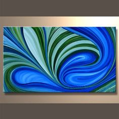 #CHCLLC Abstract Oil Painting 50x100cm $150 Contact sales@captivatinghomecollection.com to order!