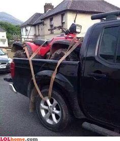 Locked ATV