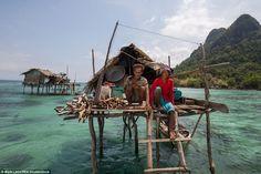 Insalmali and Muslina are an elderly Bajau Laut couple that live off Bodgaya Island. They ...