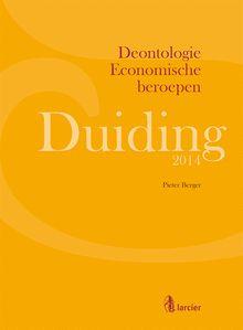 Duiding Deontologie Economische beroepen