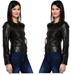 Leather Jackets for Women  Get this Leather jacket for Women from our online megastore Goguava.com at affordable price.  http://goo.gl/cT6wvM
