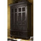 Armoire Wayfair - Kingstown Trafalgar - $3,379.00 http://www.wayfair.com/Tommy-Bahama-Home-Kingstown-Trafalgar-Armoire-01-0619-311C-TBL1493.html Height - Top to Bottom: 83 Inches Overall Width - Side to Side: 58 Inches Overall Depth - Front to Back: 25.5 Inches