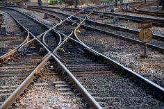 The Lost Art of Train Travel National Rail, Old Steam Train, Network Rail, Old Trains, Lost Art, Train Layouts, Train Tracks, Model Trains, Railroad Tracks