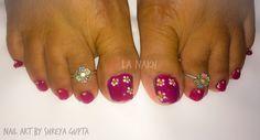 #nailart #naillove #nailtechnician #beautifulnails #prettynails #floralnails #nailwow #nails💅 #nailpro #nailswag