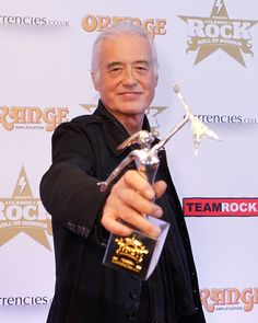 Jimmy Page - Arrivals at the Classic Rock Roll of Honour
