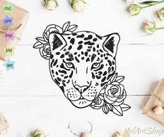 Face Tattoos For Women, Tattoos For Women Small, Small Tattoos, Cheetah Tattoo, Leopard Print Tattoos, Head Tattoos, Cute Tattoos, Tatoos, Printable Tattoos