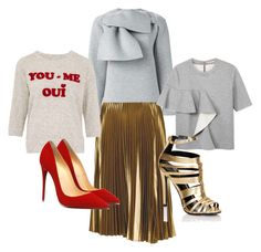 """Heels & Fancy Sweatshirts!!!!"" by la-harrell-styling-co on Polyvore featuring A.L.C., MSGM, Marni, Lipsy and Zoe Karssen"