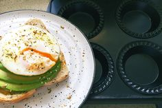 This is one seriously good kitchen hack - pie maker poached eggs! No more trying to swirl water in a pot to poach eggs for breakfast or brunch. The pie maker poaches eggs just right and in a flash. Best Breakfast, Breakfast Recipes, Egg And Bacon Pie, Dim Sim, Cooking Time, Cooking Recipes, My Pie, Sausage Rolls, Family Meals