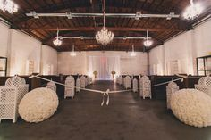 Intimate, Industrial Wedding Ceremony Location in Downtown Phoenix at The Croft Downtown. Wedding Ceremony, Wedding Venues, Downtown Phoenix, Indoor Wedding, Industrial Wedding, Corporate Events, Ceiling Lights, Urban, Photography