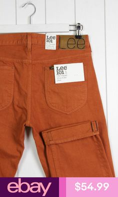 86f61873 Lee #eBayJeans Clothing, Shoes & Accessories. Ryan Bolden · Men's Orange  Jeans