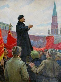 Communist Propaganda, Propaganda Art, Soviet Art, Soviet Union, Unique Paintings, Original Paintings, Back In The Ussr, Socialist Realism, Russian Revolution