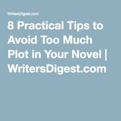 mystery writing tips