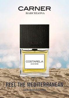 CARNER BARCELONA Costarela - niezwykłe uczucie wolności, jakie daje obserwacja otwartego morza. We flakonie COSTARELA zamknięto śródziemnomorską bryzę i słony, drzewny zapach starych łodzi, wysuniętych na piasek.