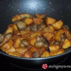 Μανιτάρια σωτέ Greek Beauty, Hors D'oeuvres, Greek Recipes, Kung Pao Chicken, Stuffed Mushrooms, Food And Drink, Meat, Vegetables, Ethnic Recipes