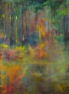 Firefly, original oil and wax on panel by Susan Gordon Hillier available at the R. Michelson Galleries