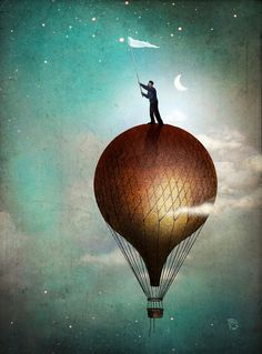 'Catch a Star' by Christian  Schloe on artflakes.com as poster or art print $22.17