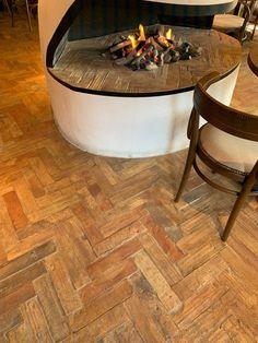 Herringbone tile pattern ideas - Lubelska Brick Tiles, Brick Flooring, Wooden Flooring, Herringbone Tile Pattern, Tile Patterns, Pattern Ideas, Backyard Patio Designs, Flooring Options, Floor Design