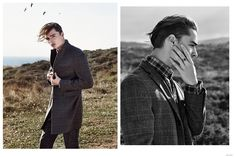 Nazar Grabar Heads Outdoors for All Men image Nazar Grabar Fashion Editorial 001
