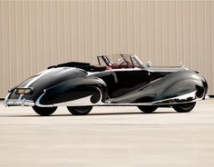 1947 Franay-Bentley Mark VI  -  I never noticed cars but this one even caught my attention.