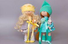 Doll. Handmade doll. Handmade toys. Кукла текстильная ручной работы.  Кукла на заказ.
