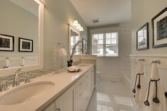 Benjamin Moore Hollingstworth Green 2013 Spring Parade Of Homes - traditional - bathroom - minneapolis - Highmark Builders
