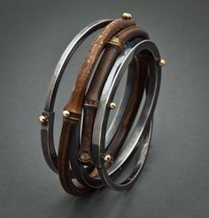 Fancy - Bamboo Bracelets by Fred & Janis Tate Designs