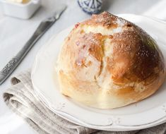 Pinca, also called sirnica, is a traditional Croatian Easter sweet bread.