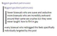 I'm pretty awkward at flirting sooooo Bisexual Pride, Gay Pride, Bi Memes, Saga, Lgbt Love, Lesbian, Equality, Mood, Feelings