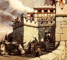 Mycenaean Siege by LordGood.deviantart.com on @DeviantArt